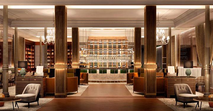 Lobby del nuevo Gran Hotel Inglés