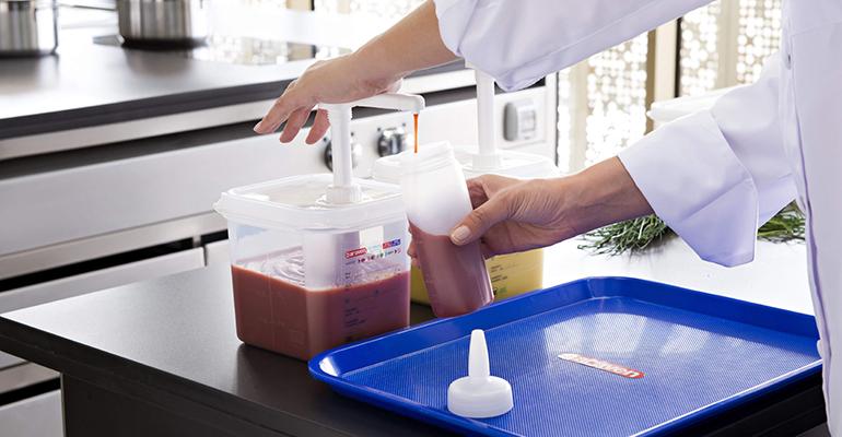 Dosificadores salsas araven
