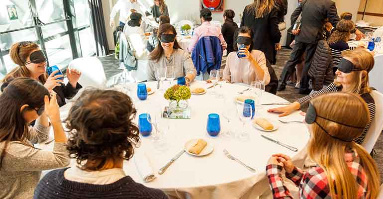 Cena sensorial durante la Madrid Hotel Week