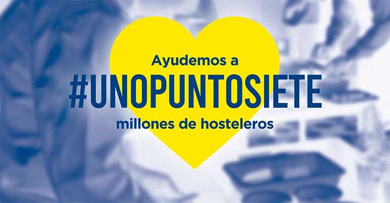 #Unopuntosiete recoge las peticiones de los hosteleros para afrontar la crisis