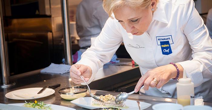 Susi Díaz cocina con los productos MakroChef