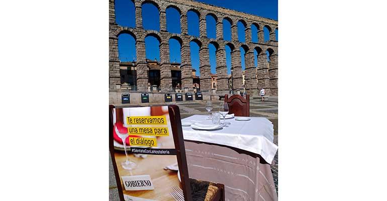 Manifiesto en Segovia