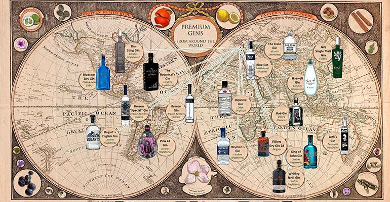 Mapa ginebras del mundo central hisumer