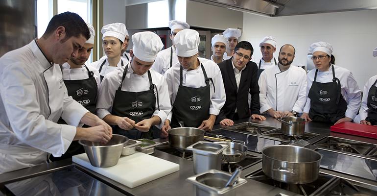 alumnos master cocina BCC