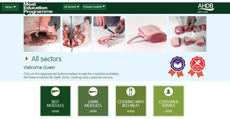 Meat Education Program web