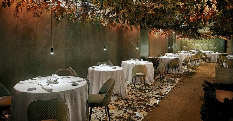 Restaurante efímero Mirazur in residence en Madrid