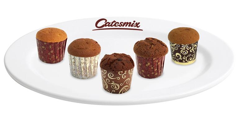 La marca Catesmix cuenta con productos de panadería y pastelería