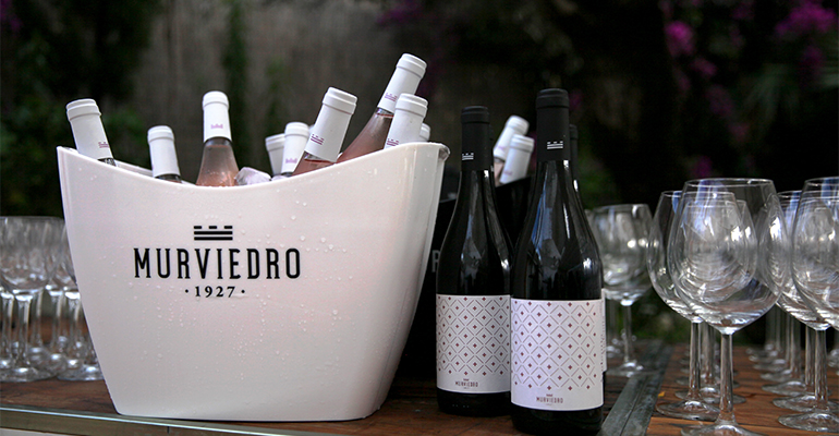 Nueva imagen y vinos de Murviedro, Audienta rosado y tinto