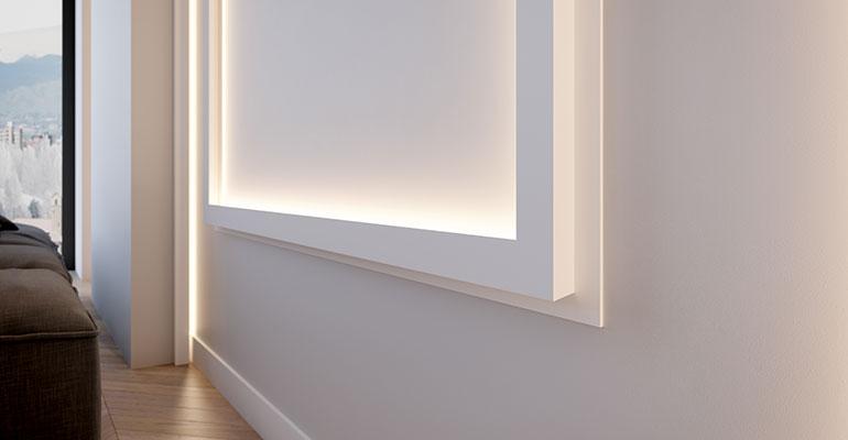 NMC perfiles iluminación indirecta