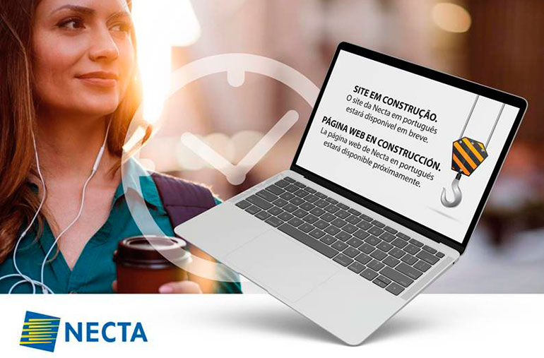 Necta web en português