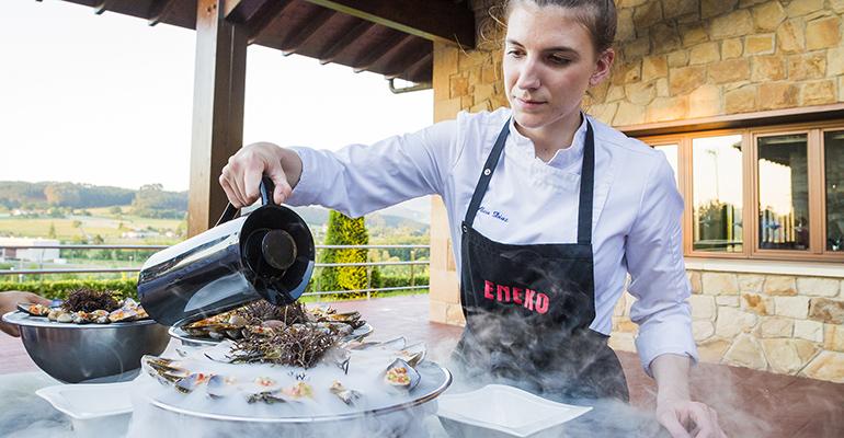 Noches Cervezas Alhambra o cómo diseñar un menú de alta cocina maridado con cerveza con Eneko Atxa