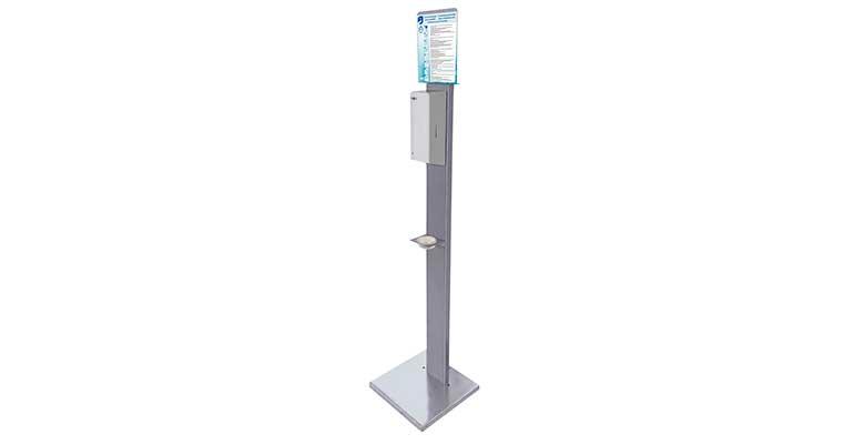 Expositores para dispensadores electrónicos de gel hidroalcohólico