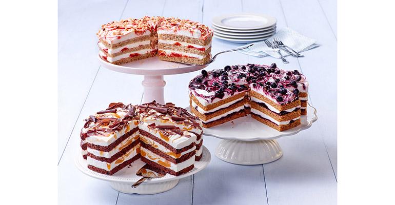 Tres pasteles nórdicos de erlenbacher