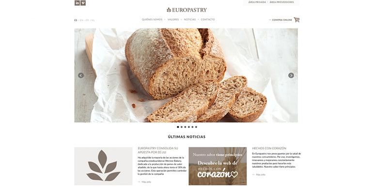 Nueva web de europastry