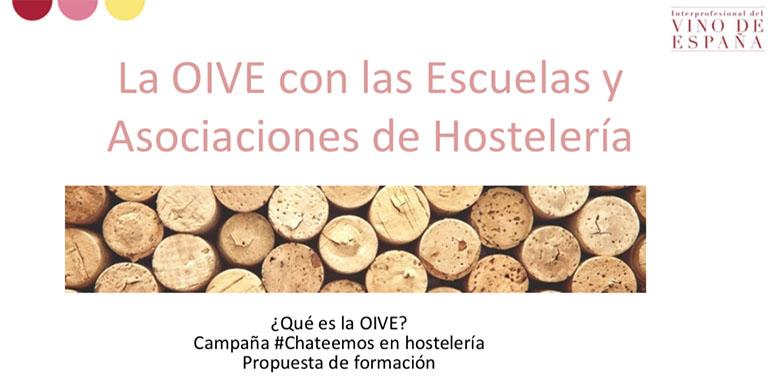 OIVE convoca un curso gratuito sobre el mundo del vino para hosteleros