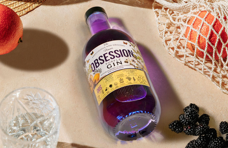 Obsession Gin Purple