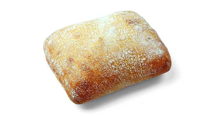 Pan de cristal cuadrado para hamburguesas