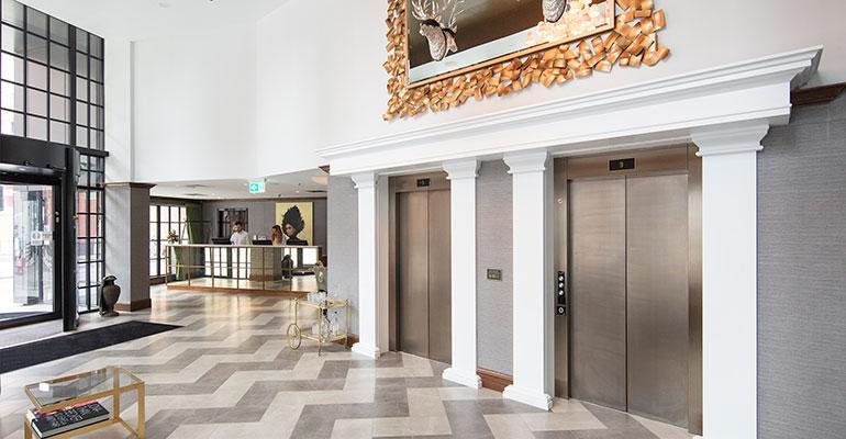 Orona ascensores en hotel