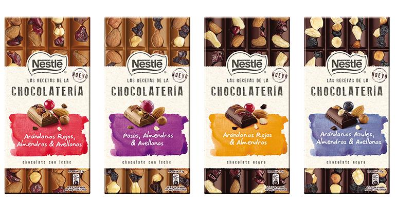 Chocolates artesanos Nestlé