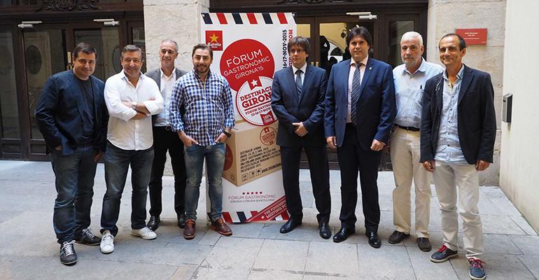 Presentación oficial de Forum Gastronomic Girona 2015