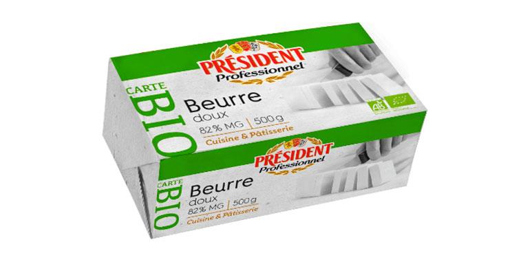 President mantequilla bio
