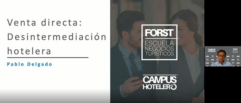 Pablo delgado campus hotelero Forst