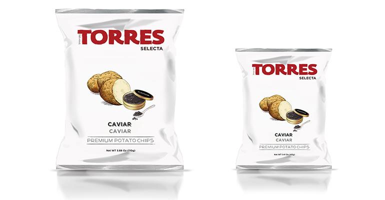 Patatas fritas al caviar torres