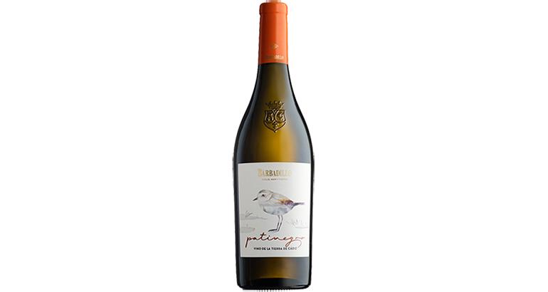 Patinegro, blanco seco de Palomino Fino y con IGP Vino de la Tierra de Cádiz