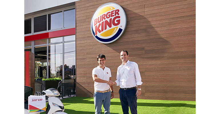 Patrik Bergareche, de Just Eat y Borja Hernández, de Burger King