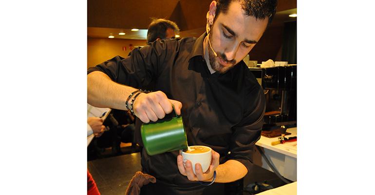 Pau Sala, barista