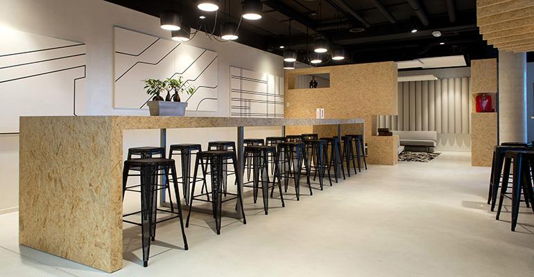 Revestimiento pavimento hostelería Beal international
