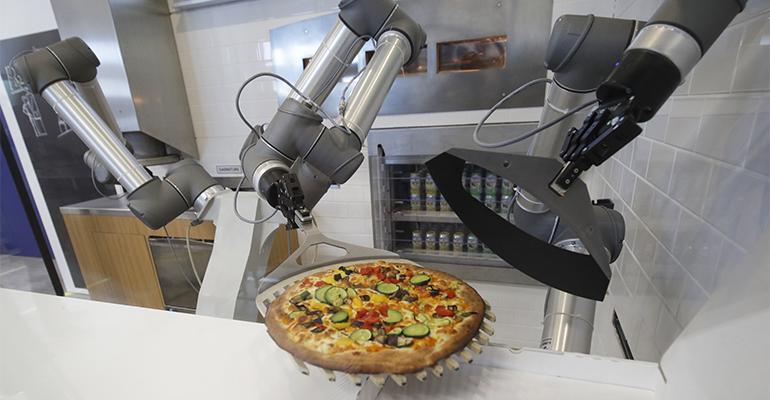 Robot pizzero