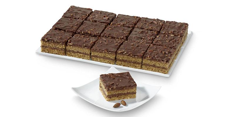 Tarta de almendras de erlenbacher con chocolate