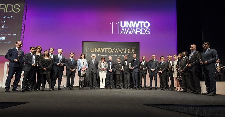 Ganadores de los Premios OMT turismo innovación
