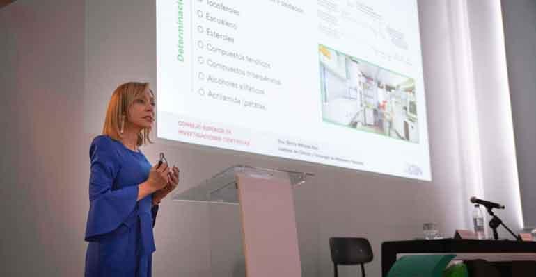 Gloria Márquez, investigadora científica del ICTAN-CSIC