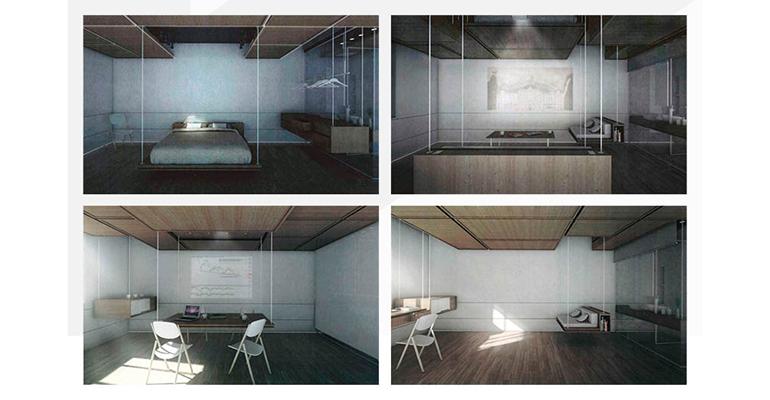 Imágenes del proyecto ganador del Hotel Lab de Eurostars