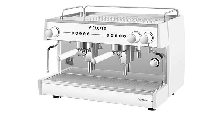 Visacrem Vetro Take Away blanco