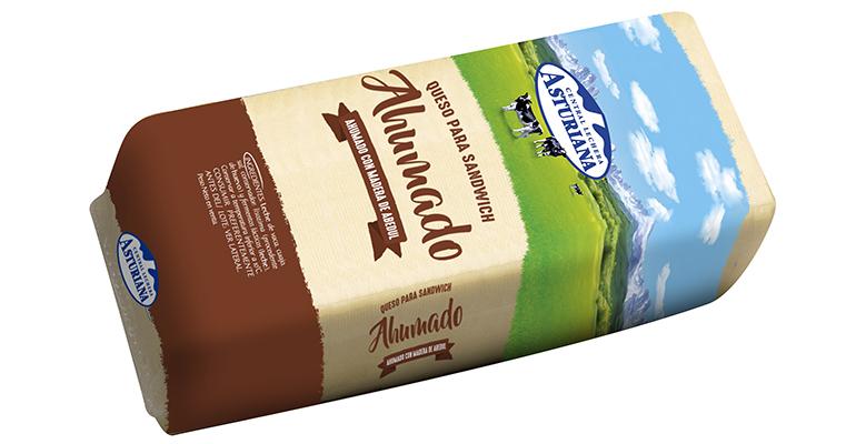 Queso para Sandwich Ahumado Central Lechera Asturiana