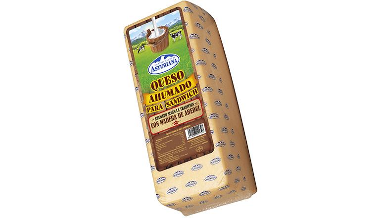 queso barra ahumado para sandwich