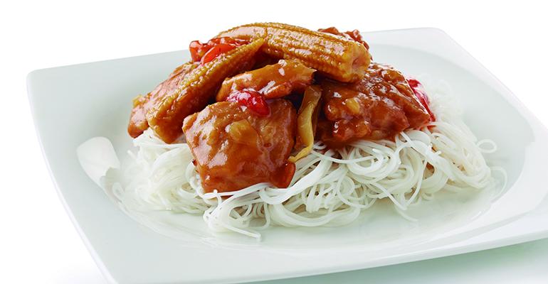 XINA - noodles pollo quickchef
