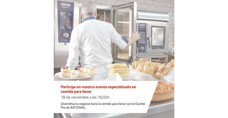 Rational evento comida para llevar