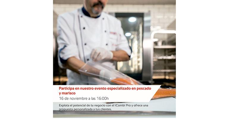 Rational cocinado pescado y marisco