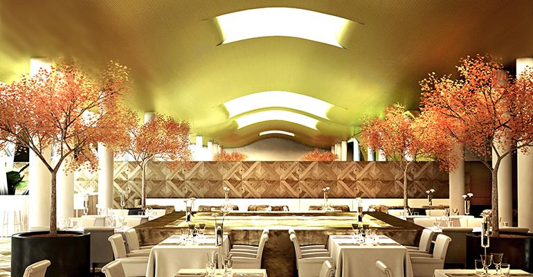 restaurante oria en el monument hotel