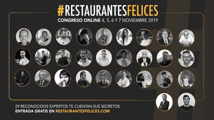 congreso online restaurantes felices
