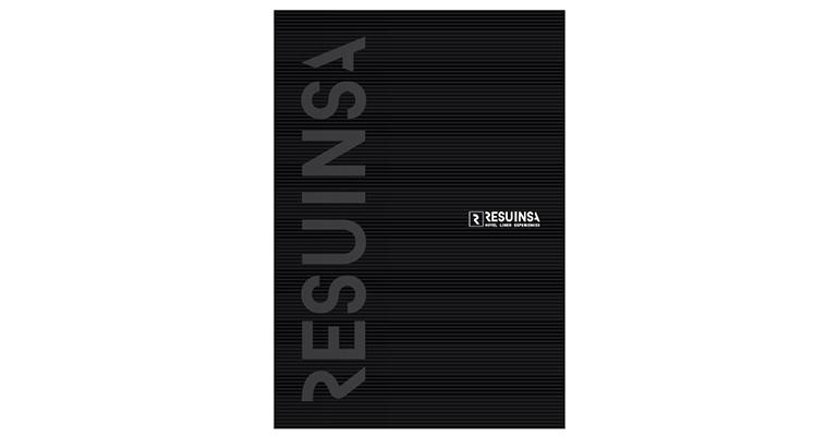 Portada del nuevo catálogo de Resuinsa