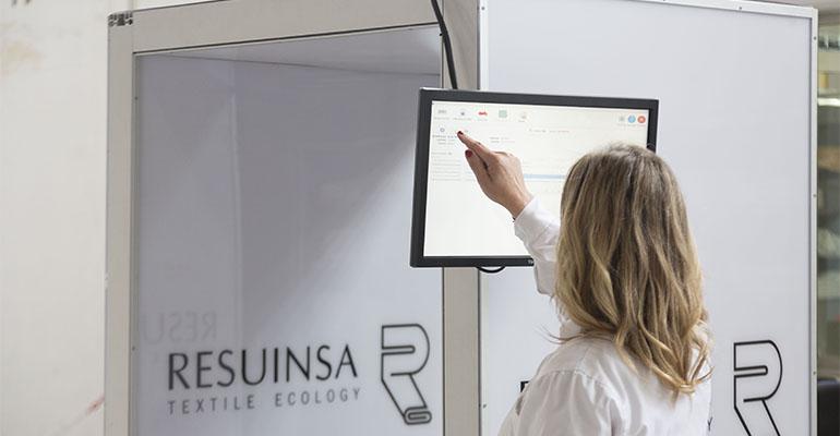 Sistema de control de textiles inteligente de Resuinsa