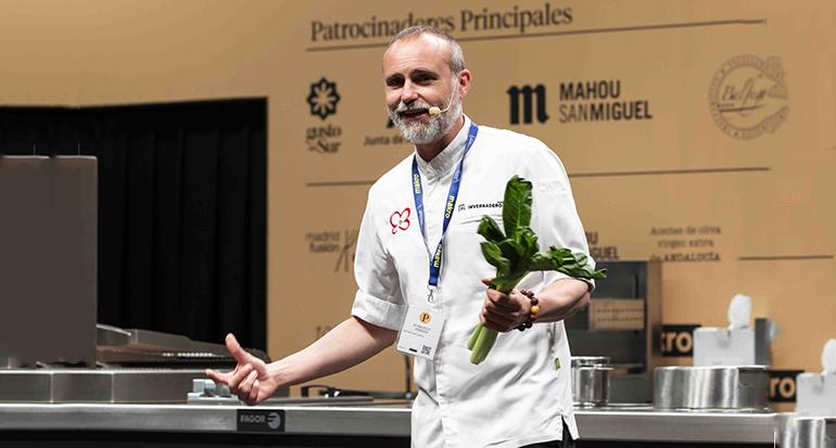 Rodrigo de la Calle y Primaflor presentan diversas propuestas para preparar aperitivos