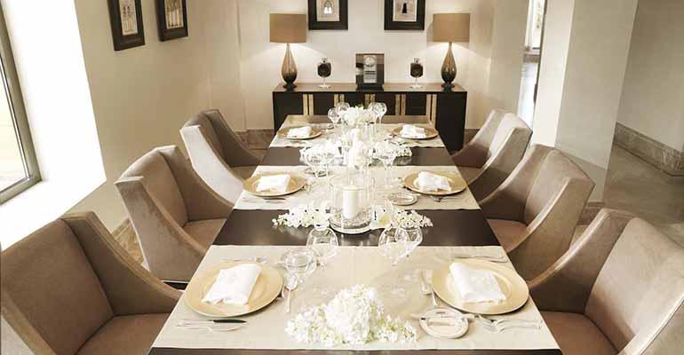 Royal Suite Dining Room del Intercontinental de Madrid