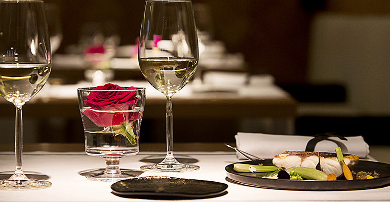 Propuesta restaurante oria para san valentín