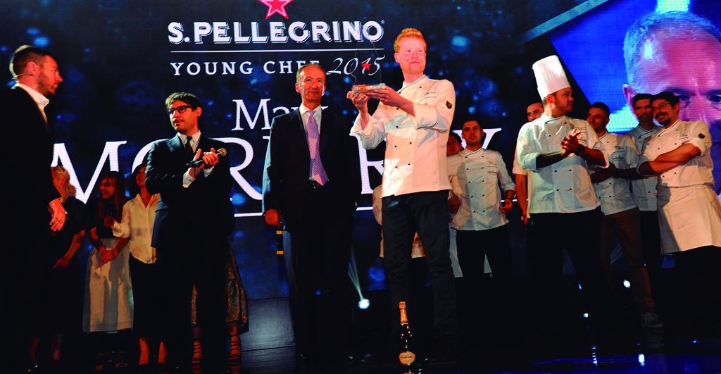 Mark Moriarty mejor chef joven del mundo